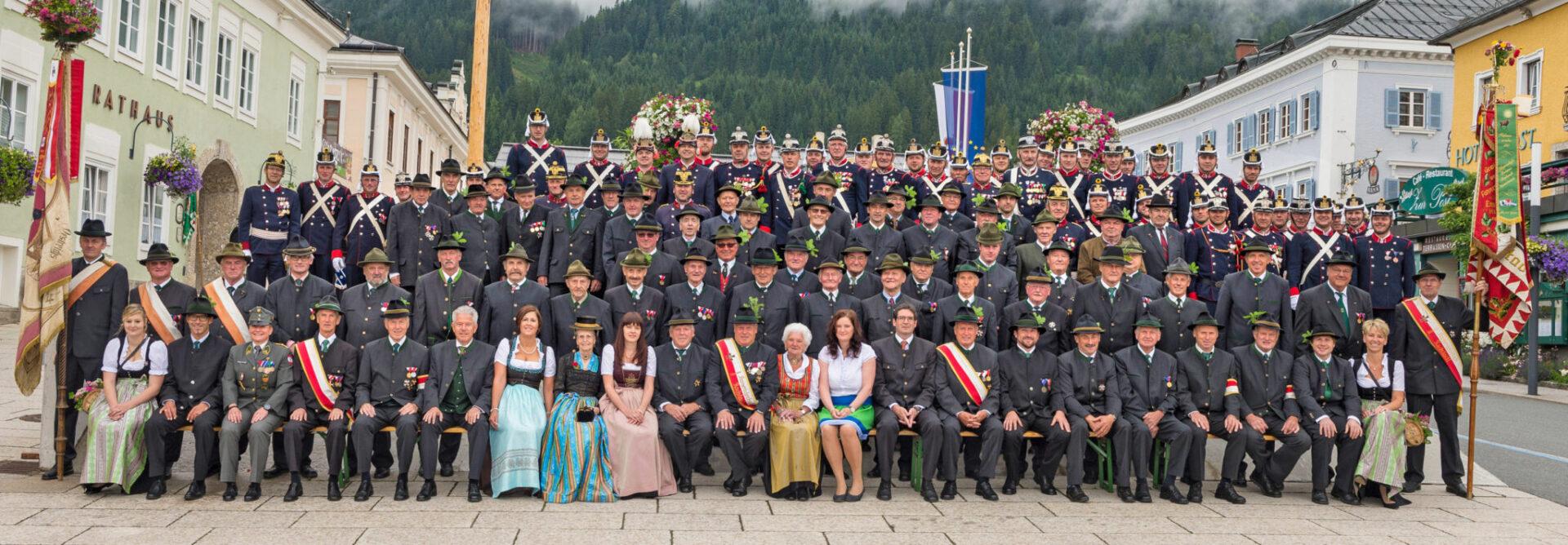Kameradschaftsbund-Gruppenfoto